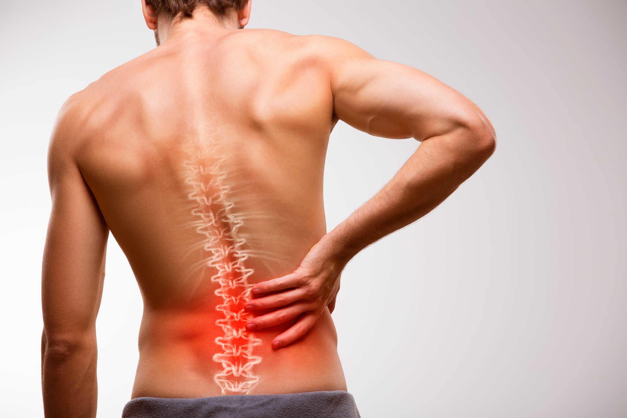 Lower back pain rehabilitation and treatment