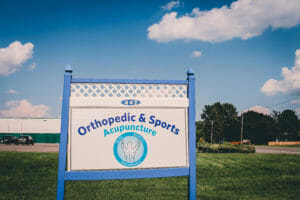 Orthopedic & Sports Acupuncture Signage